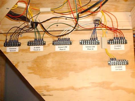 wiring lionel layout wiring diagram with description