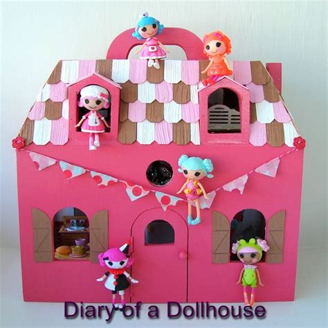 lalaloopsy big doll house lalaloopsy mini dollhouse outside gets updated diary of a dollhouse