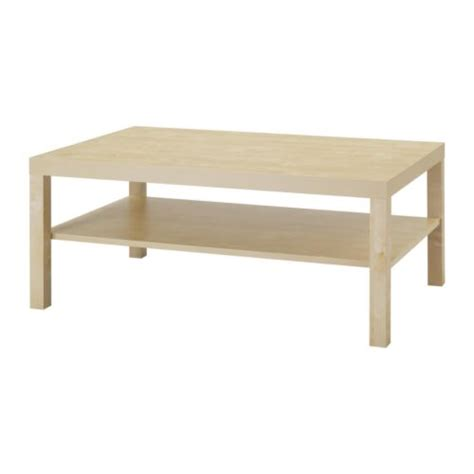 lack table basse motif bouleau ikea