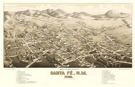gis city of santa fe santa fe underground archaeology southwest