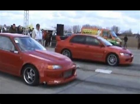 Sparepart Honda Vs Mitsubishi Honda Civic Rocket Turbo Vs Mitsubishi Lancer Evo Ix