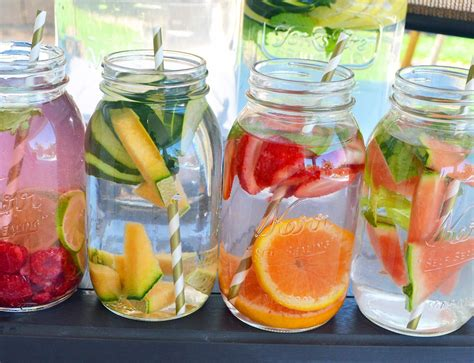 Spa Detox Water spa fruit infused detox water modern honey