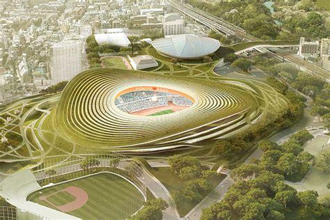 design competition japan photos tadao ando s national stadium design competition
