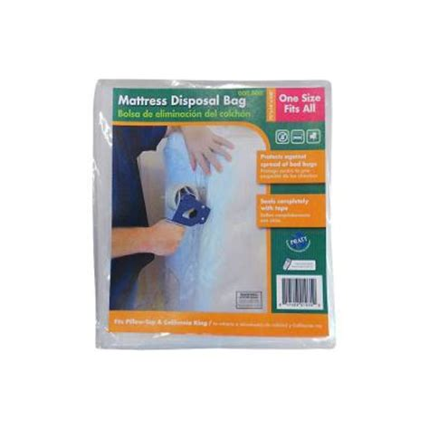 Mattress Disposal Bags by Pratt Retail Specialties Mattress Disposal Bag 7007008