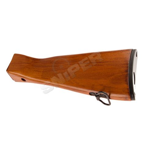 lckm 63 wood stock pk 193 sniper airsoft supply