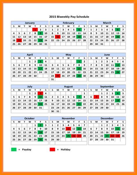 6 2018 Biweekly Payroll Calendar Template Pay Stub Format 2018 Weekly Payroll Calendar Template