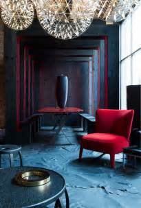 Round Club Chair Stunning Velvet Red Interior For Decorating Ideas