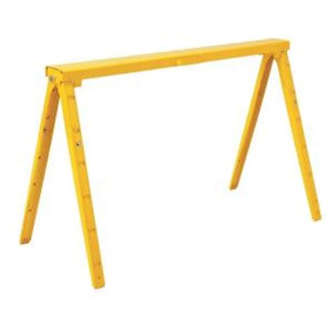 38 in adjustable folding sawhorse sh38a 16 the