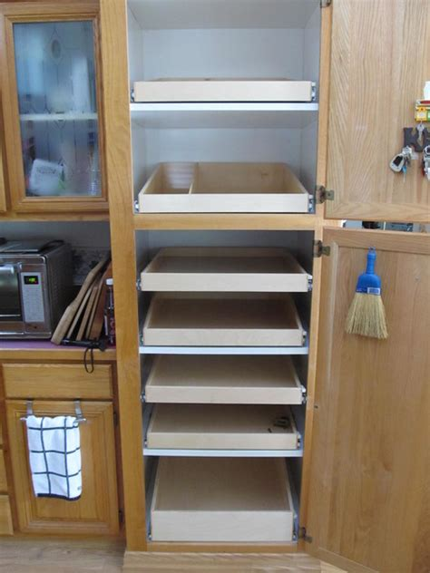 slide out pantry shelves portland by shelfgenie of