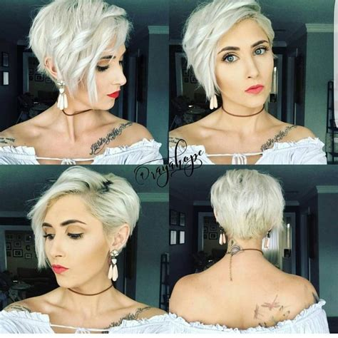 short hairstyles long on one side short on other best 25 short asymmetrical hairstyles ideas on pinterest