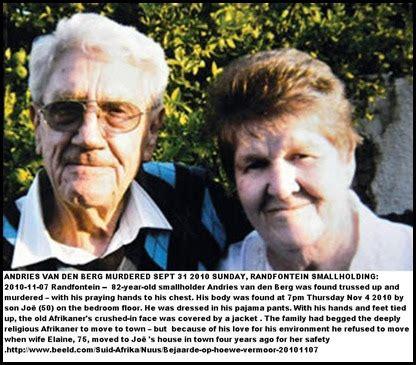 boer genocide farm murders victim censorbugbear reports farm murders victim names 1994 2010