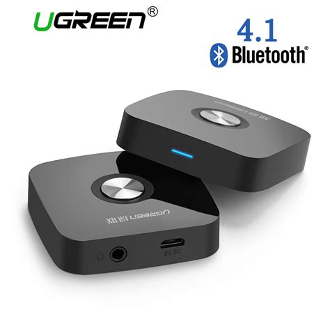 Audio 35mm Aux Stereo Wireless Bluetooth Receive Promo ugreen 4 1 wireless bluetooth receiver 3 5mm aux receiver audio stereo receiver bluetooth