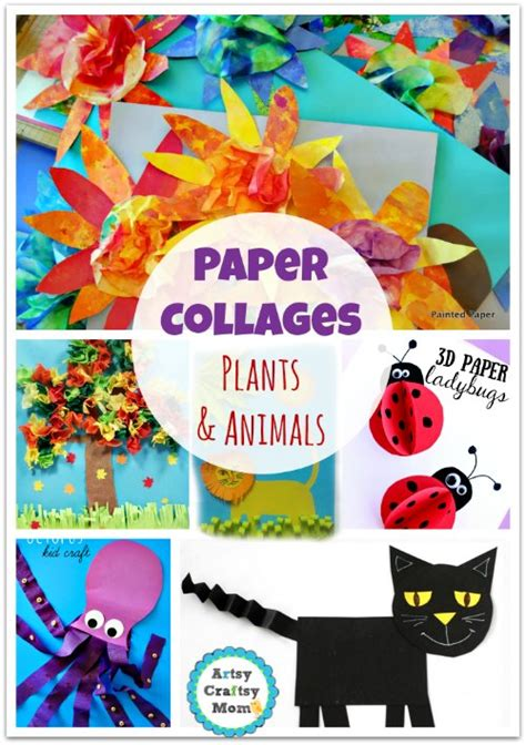 Make Paper Collages - 70 simple paper collages you ll to make now