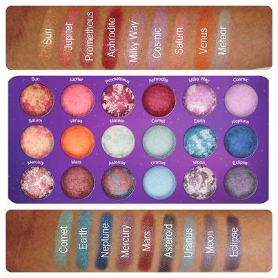Bh Cosmetics Galaxy Chic bh cosmetics galaxy chic baked eye shadow palette