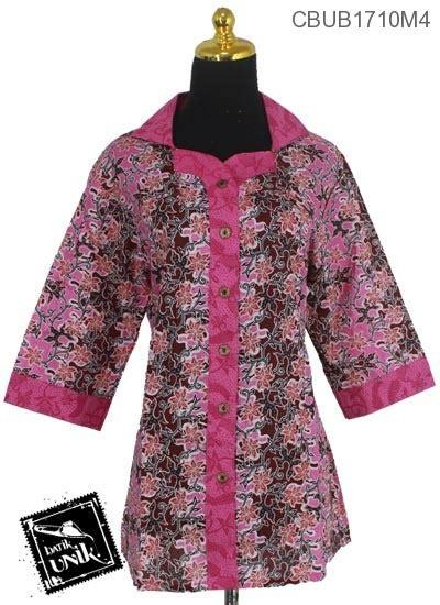 Blus Kembang Murah blus jumbo tanggung motif kembang regolan blus lengan tanggung murah batikunik