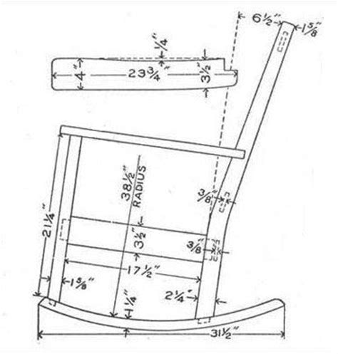 how to build a rocking bench rocking chair plans gardening ish pinterest rocking