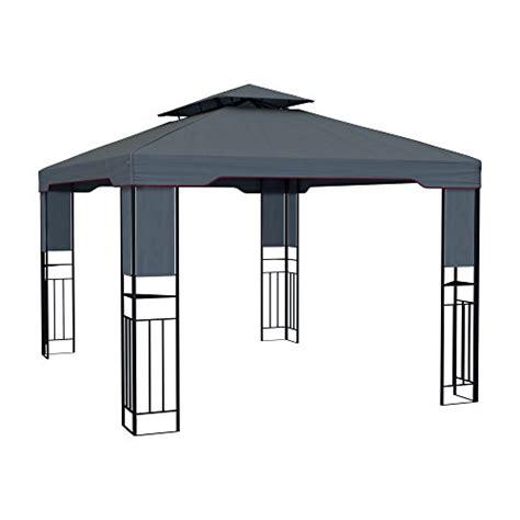 Gartenpavillon Wasserdicht by Paramondo Deluxe Gartenpavillon Wasserdicht 4 X 3m Anthrazit