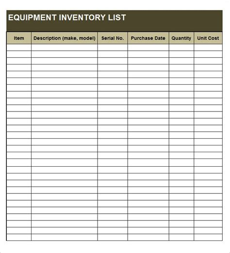 inventory forms templates free doc 585460 inventory list form bizdoska