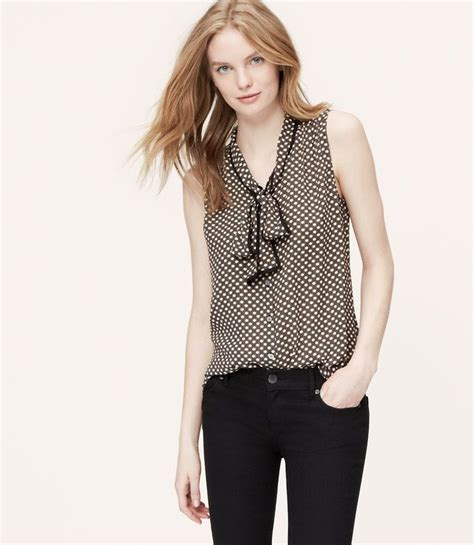 Loft Mosaic Bow Neck Blouse by 49 Best Images About Tie Neck Tops On