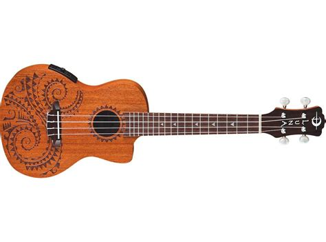 luna guitars uke tattoo concert acoustic electric ukulele
