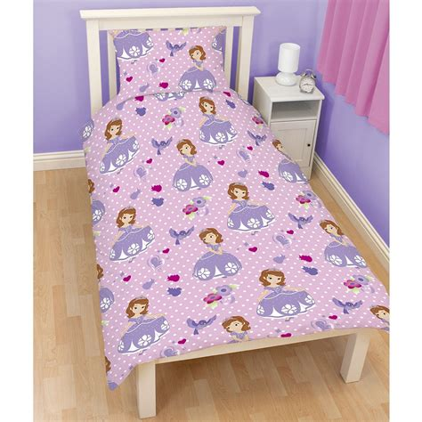 sofia the first bedroom disney sofia the first bedding single double junior