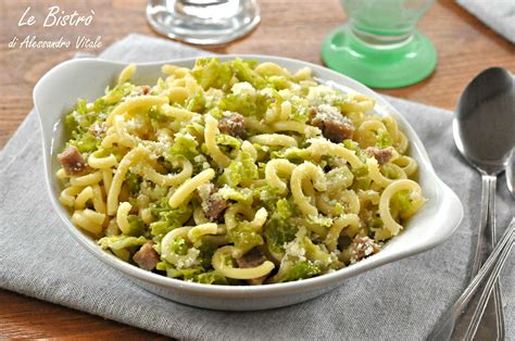 la verza come si cucina pasta con verza e salsiccia