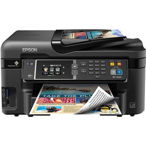 Printer Epson All In One epson workforce wf 3620 wireless color all in one