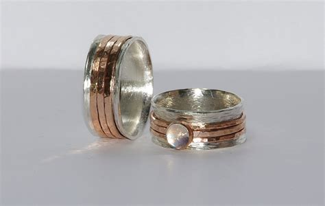 Unique Handmade Wedding Rings - personalized jewelry engraved rings personalized wedding