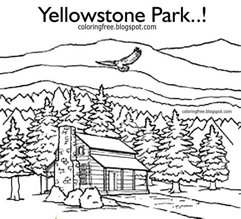 cabin coloring pages 69 coloring page of log cabin