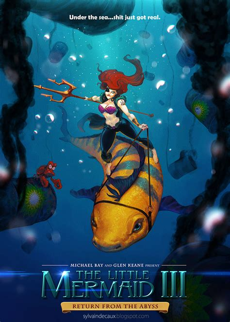 the little mermaid iii return from the abyss by