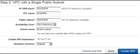 subnetting tutorial point amazon web services virtual private cloud