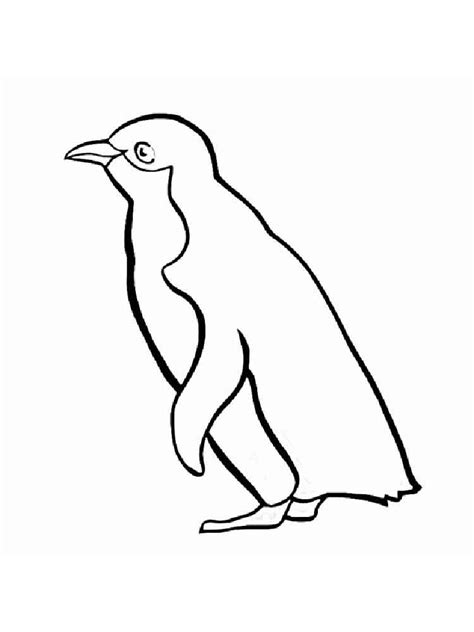 Coloring Pages Of Penguins To Print