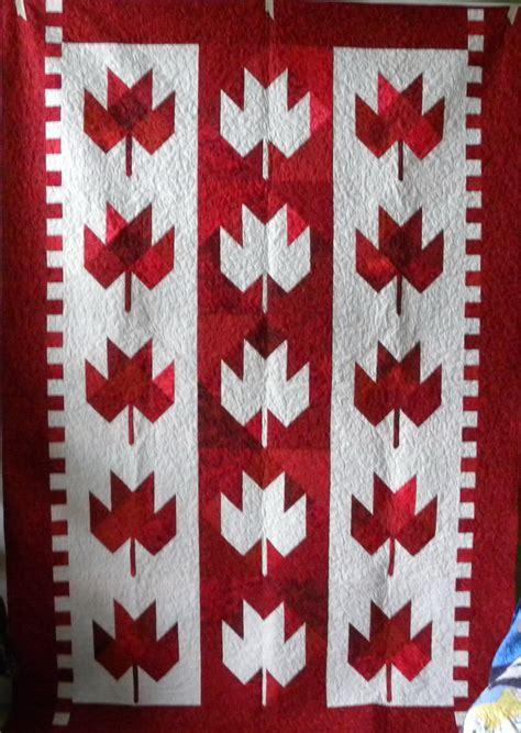 Quilts Canada by Maple Leaf Quilt Canada Day Ideas