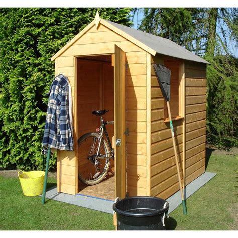 shire shetland  shiplap apex garden shed