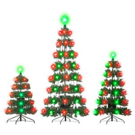 outdoor tree light shows outdoor light and sound show set with 3 trees betterimprovement