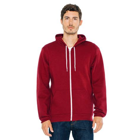 american apparel hoodie american apparel f497 flex fleece zip hoodie tsc apparel
