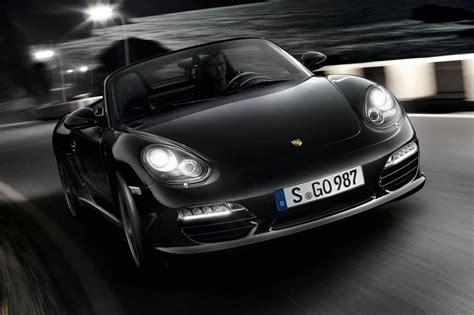 Schwarzer Porsche by Porsche Boxster S Black Edition Evo