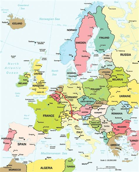 europe map germany august 2011 by bicycle and beyond