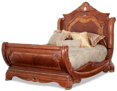 cortina sleigh bedroom set california king n65000cksl 28 cortina sleigh bedroom set from aico 65000 coleman furniture