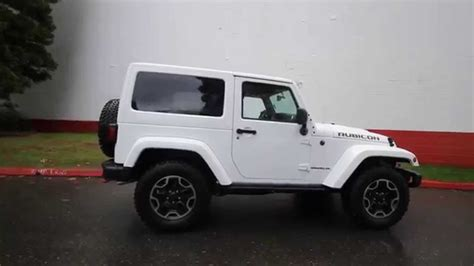 jeep rubicon white 2015 2015 jeep wrangler rubicon white fl516432 bellevue