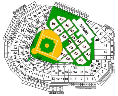 fenway seat chart fenway park seating chart boston sox seating chart