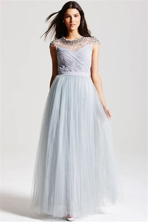 grey beaded dress grey beaded maxi dress