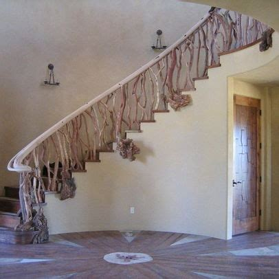 tree branch banister tree trunk banister google search for home external