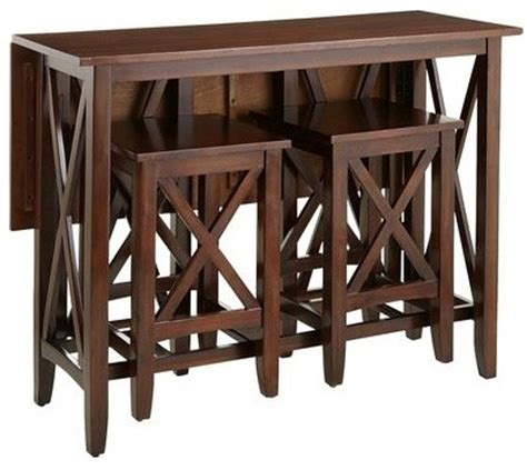 Kenzie Breakfast Table Set   Contemporary   Indoor Pub And Bistro Sets   by Pier 1 Imports