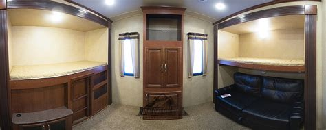 fifth wheel with bunk beds adding cabinets to the rv s bunk house