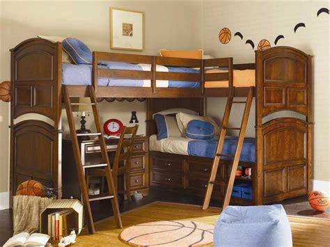 boys bed with desk corner bunk beds boys with wooden beds frame with stairs