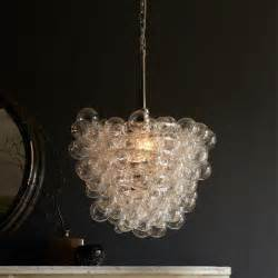 glass chandelier droplet clear glass pendant