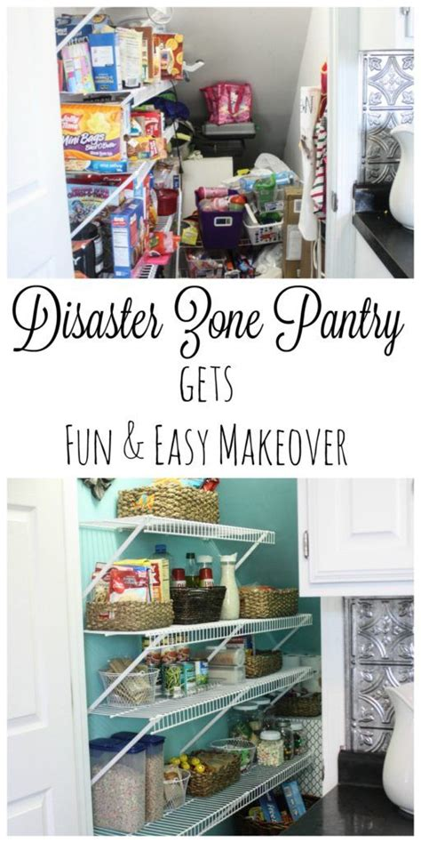 What Rhymes With Pantry by Pantry Makeover Housekeeping Cleaning