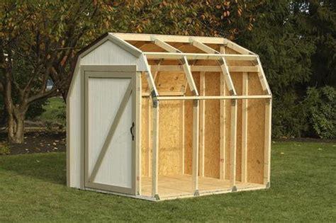 xbasics barn roof shed kit  menards