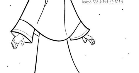 abraham covenant coloring page abraham covenant with god coloring page sunday school